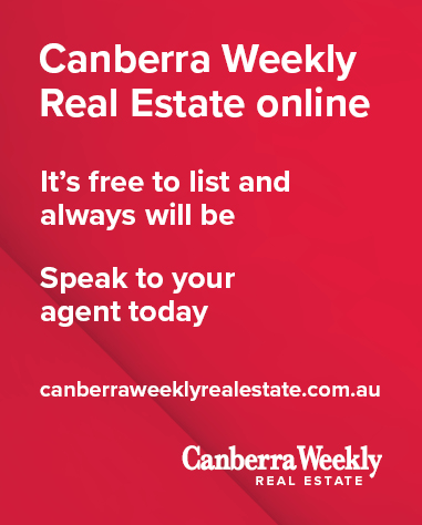 Canberra Weekly RE