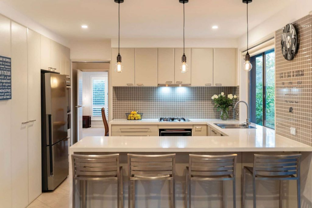 kitchen at a home