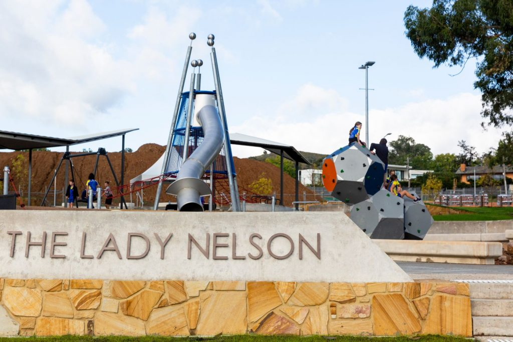 Lady Nelson Park at The Parks